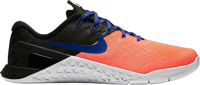 Nike Womens Metcon 3 Training Shoes B01N1U3L9E 9.5 B(M) US Black/Lava Glow/Blue