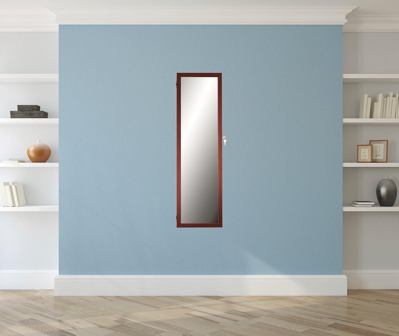 Amazon.com: mirrotek sobre la puerta/Montado en la pared y ...
