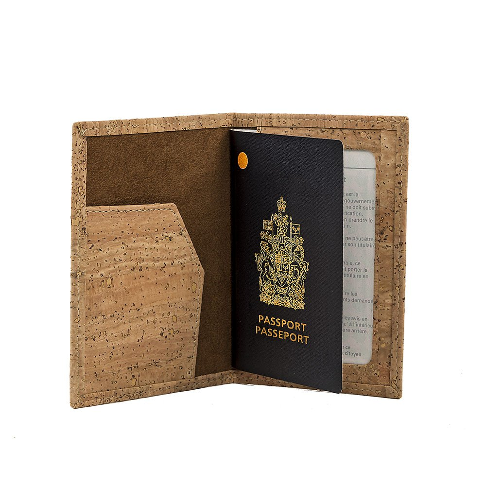 2014071180f0 Amazon.com: Cork Passport Holder Vegan Gift, Designed in Canada: Shoes