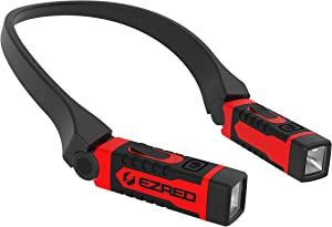 EZRED ANYWEAR Rechargeable Neck Light for Hands-Free Lighting