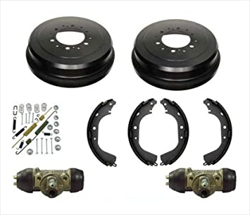 Amazon Com 6 Lug Drums Shoes Spring Wheel Cylinder For 4 Runner 86 2000 4 Wheel Drive Automotive