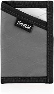 product image for Flowfold Minimalist Card Holder Durable Slim Front Pocket Wallet, Card Holder Wallet Made in USA (Grey)