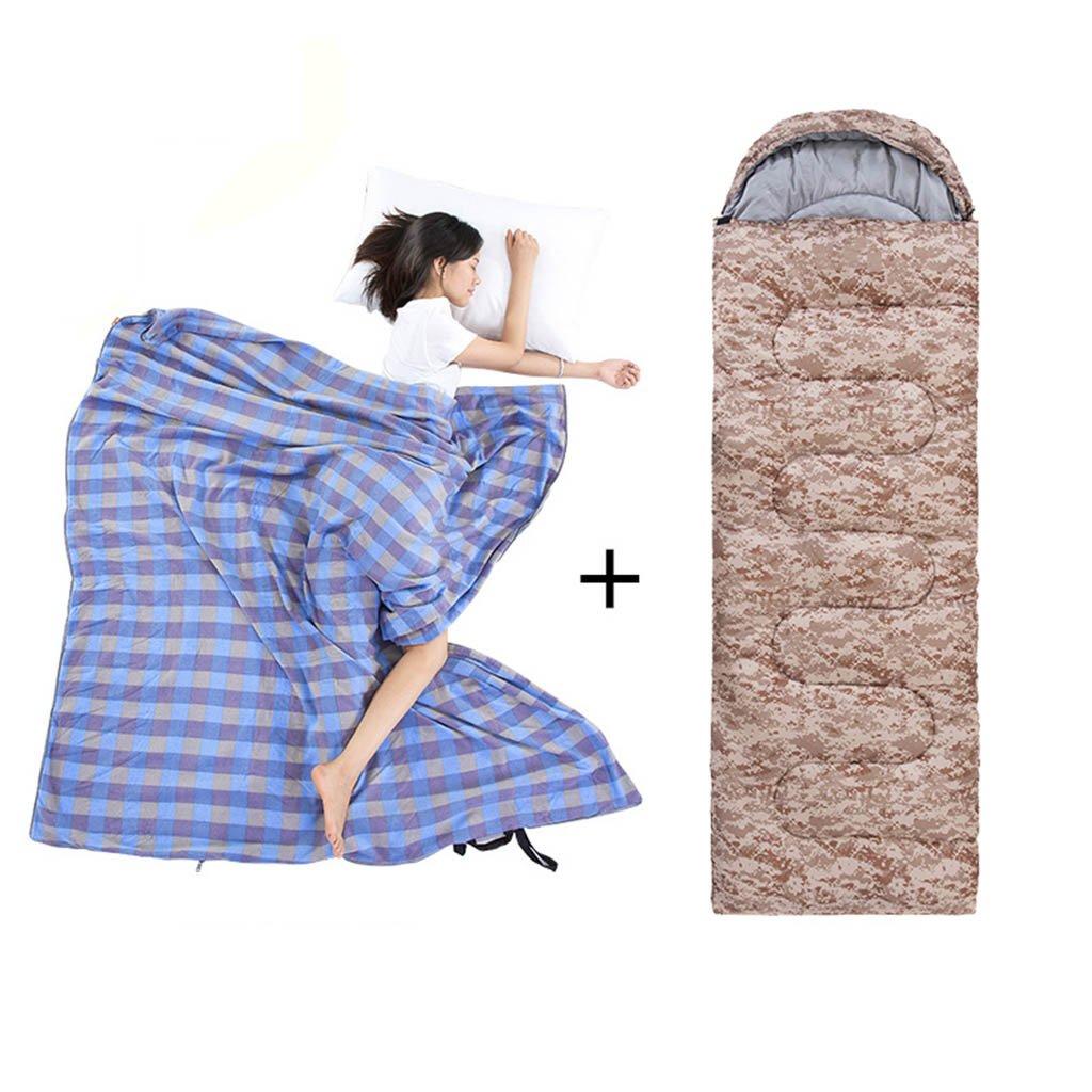 寝袋、四季屋外キャンプ旅行は暖かいアダルトポータブルを保つ B07DB6G6TY  3