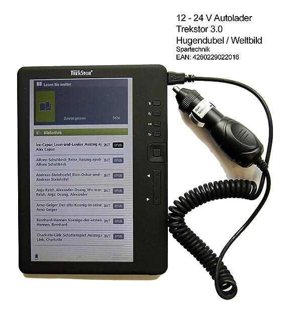 Cable de carga para coche Trekstor 3.0. 12 - 24 V Auto carga para ...