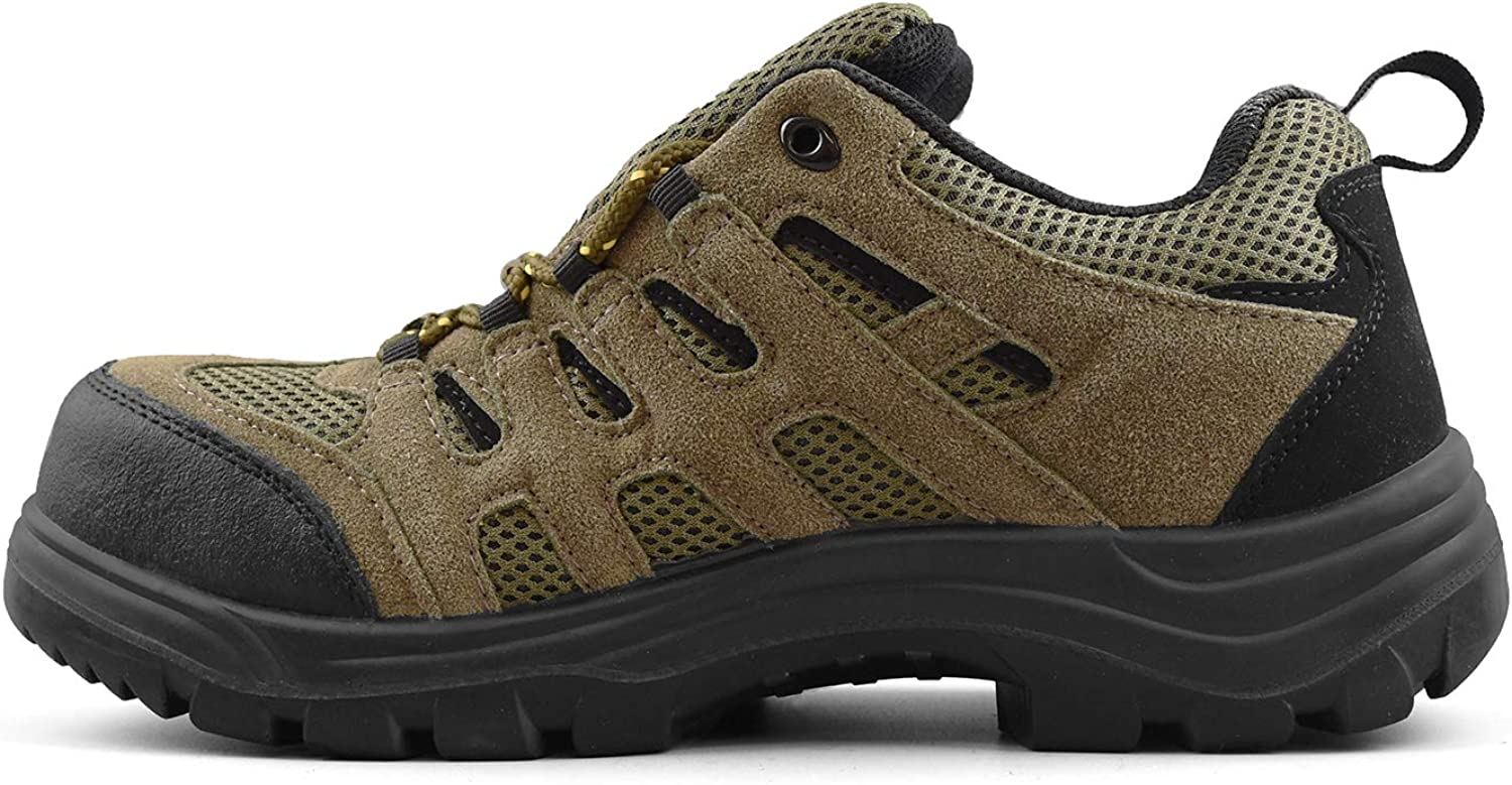 Tiger Mens Safety Shoes Steel Toe