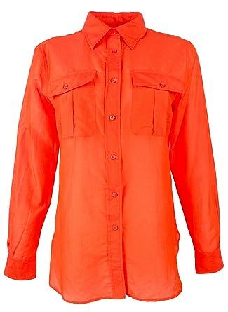 1f93d444c35d4 Ralph Lauren Women s Point Collar Long Sleeve Shirt at Amazon Women s  Clothing store