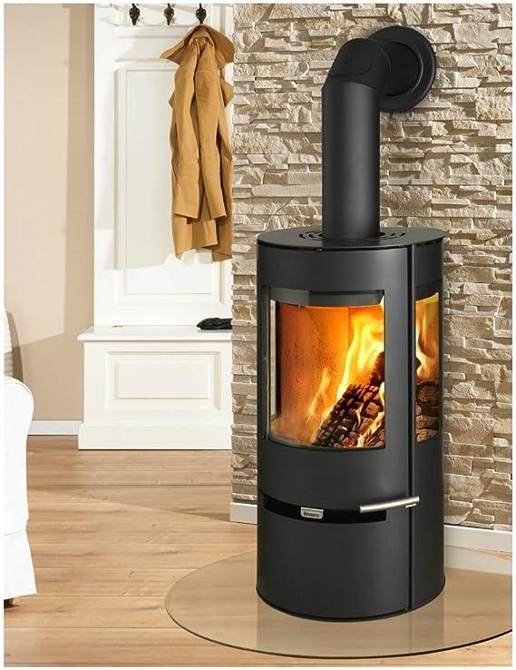 Aduro 9 - Estufa de leña (6 kW), color negro: Amazon.es: Bricolaje y herramientas