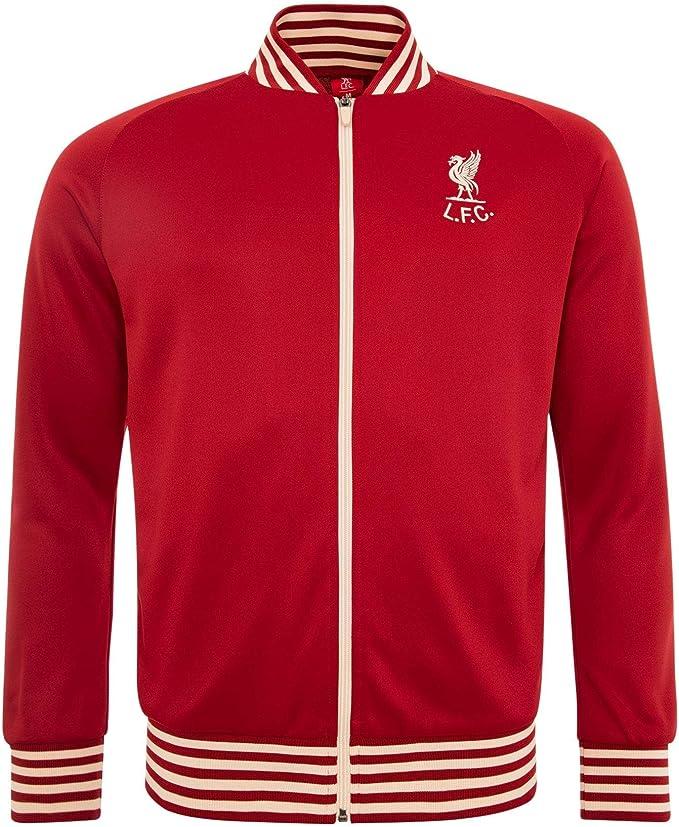 Liverpool FC Chaqueta de Chandal LFC Adultos Retro Shankly Oficial ...