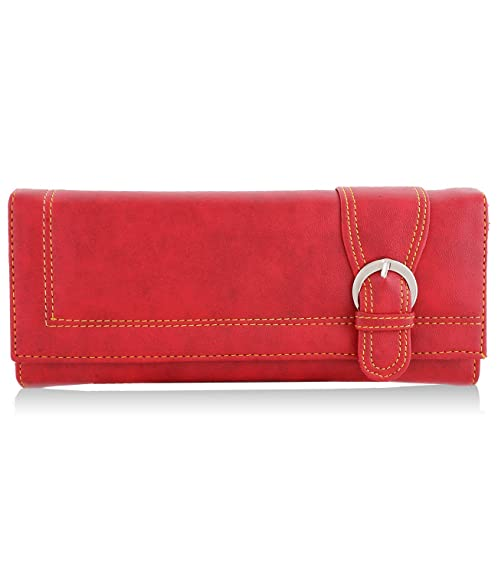 Meridian Women's Clutch Red (mrwc-016) Women's Clutches at amazon