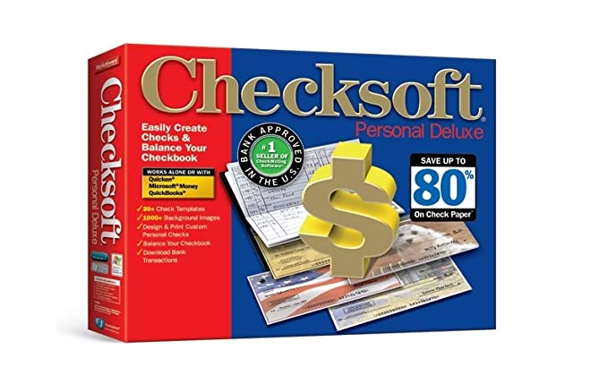 Amazon com: Avanquest Checksoft Personal Deluxe, Free Checks