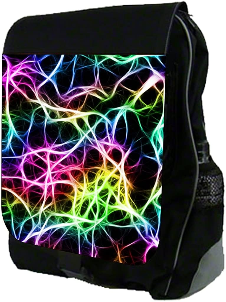Abstract Colorful Fractals TM School Backpack