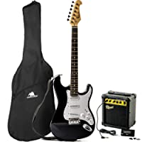 Redwood RS2 Electric Guitar/Redwood 10W Amplifier Beginners Pack - Black