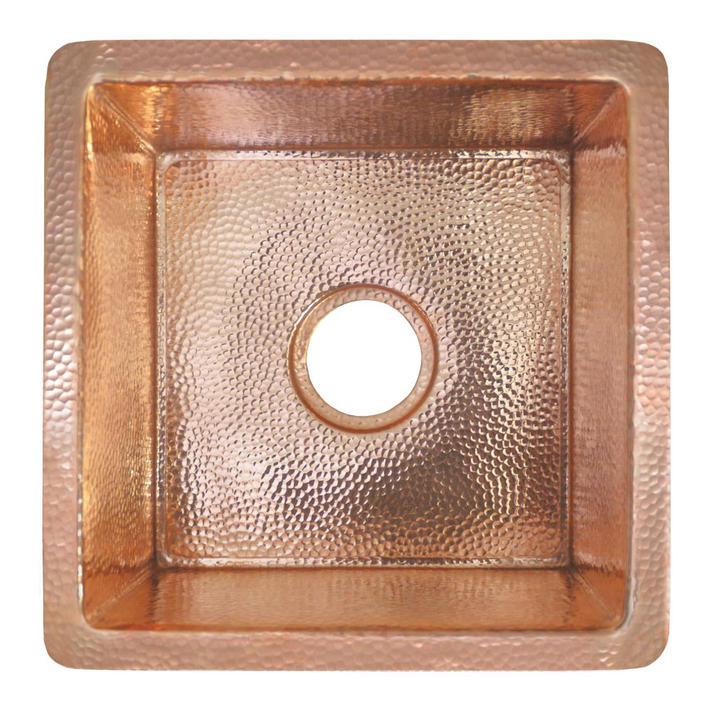 Native Trails CPS434 Catina Copper Under Under mount Bar/Prep Sink, Polished