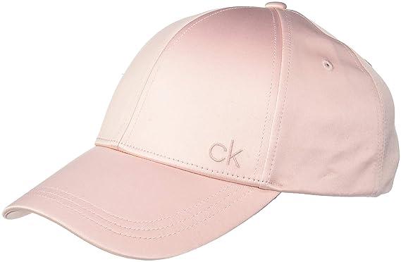 Calvin Klein Satinette Cap, Gorra de béisbol Mujer, Rosa (Petal 629), Talla única: Amazon.es: Ropa y accesorios