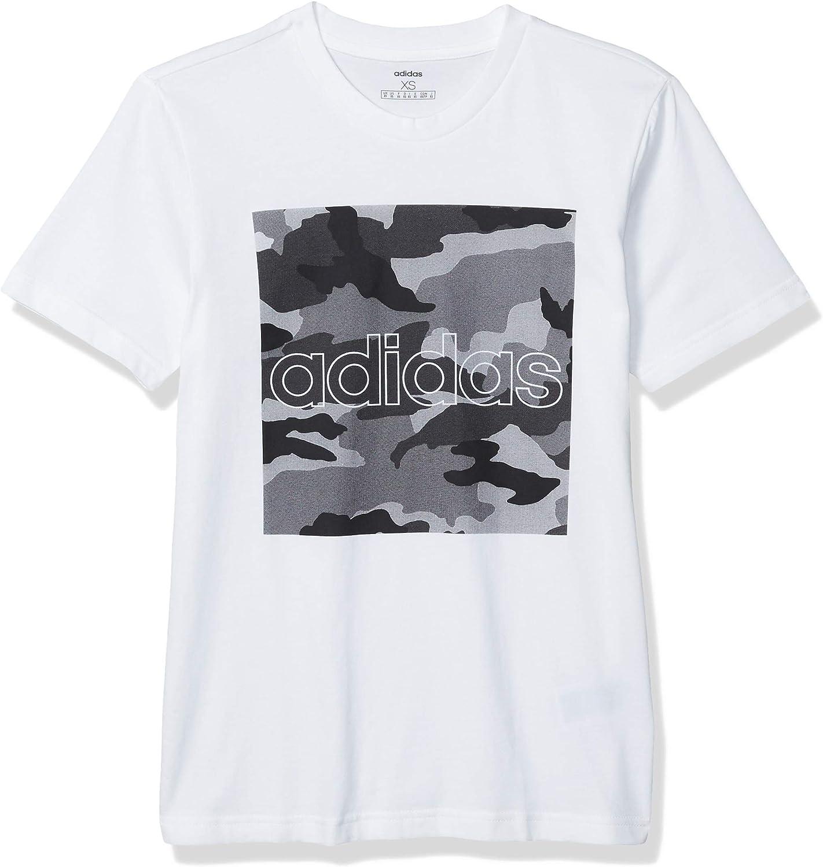 adidas Mens Camouflage Box Tee