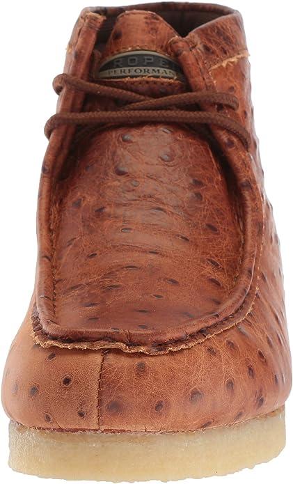 ROPER Mens Gum Sticker Ostrich Hiking Shoe