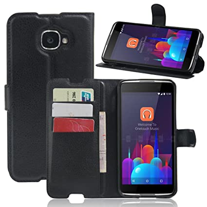 best authentic 827e2 e7591 Alcatel Idol 4s Case, New Luxury Flip Stand PU Leather Cover Wallet Case  for Alcatel Idol 4s 5.5