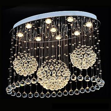 GUOCAIRONG® Lámpara de Techo 2017 Oval Lámparas de Sala de ...