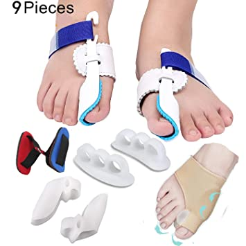 5f539d905 Bunion Corrector   Bunion Relief Protector Sleeves Kit - Treat Pain in  Hallux Valgus