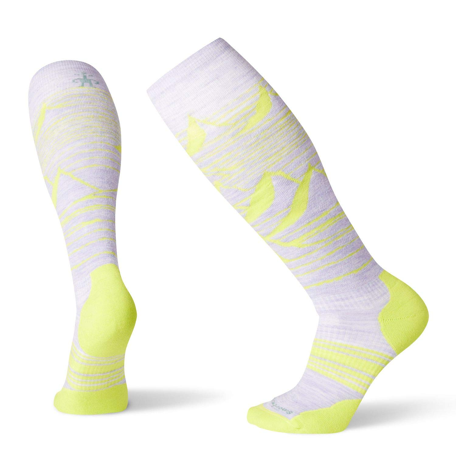 Smartwool PhD Outdoor Light Crew Socken - Damen Snow Elite Wool Performance Sock