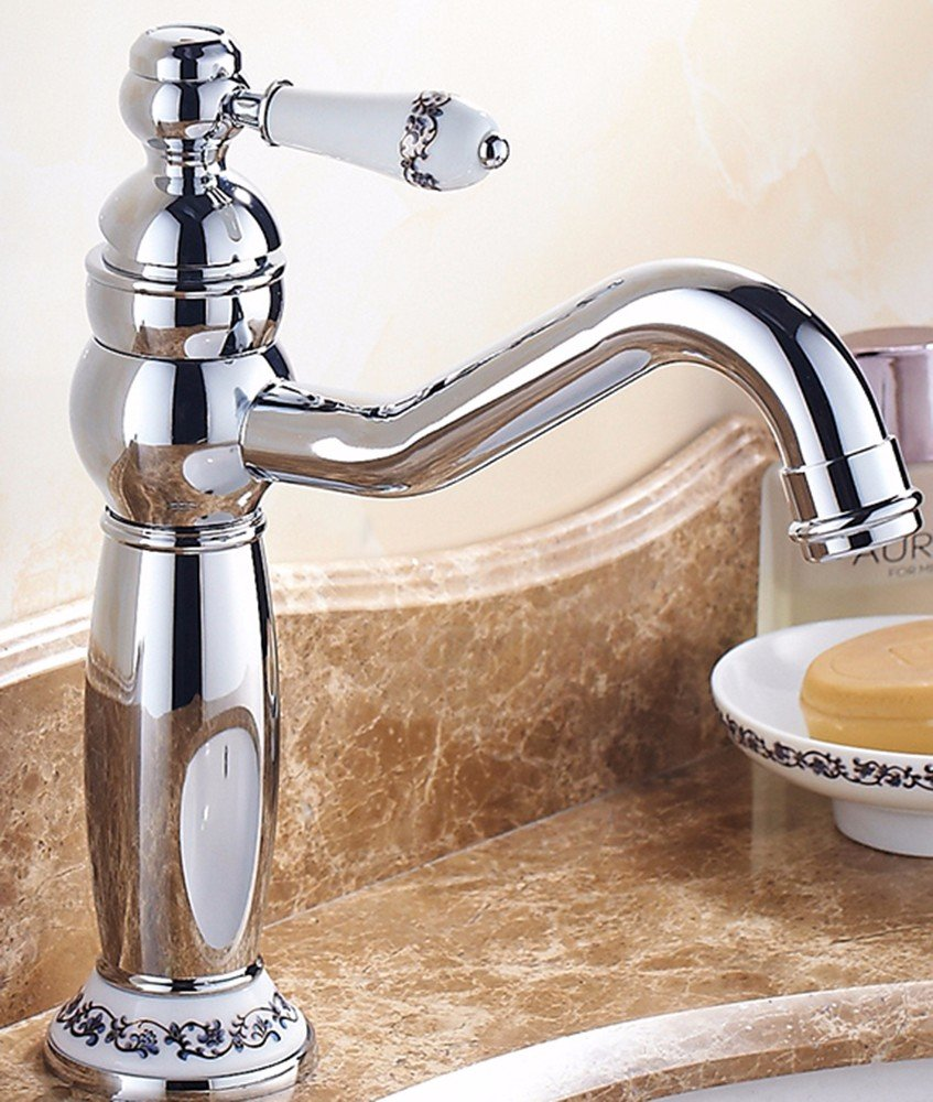 F Hlluya Professional Sink Mixer Tap Kitchen and cold, full of