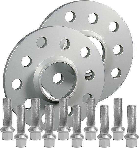 20 mm pro Scheibe // 40 mm pro Achse inkl Spurverbreiterung Aluminium 2 St/ück T/ÜV-Teilegutachten