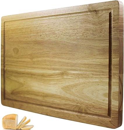 planche a decouper chef remi meilleur bloc a decouper grand ustensile de cuisine 41x25 cm plus solide que le plastique ou le bambou approuve