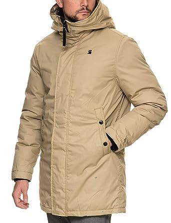 40ba60a77c18 G-STAR RAW G-Star Whistler Strett Sherpa Hooded Parka Sahara Brown Jacket   Amazon.co.uk  Clothing
