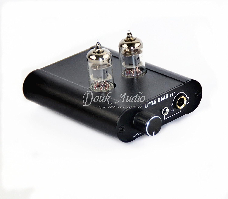 Tubo nobsound amplificador de auriculares & Audio HiFi Buffer Pre- amplificador válvula de auriculares estéreo del amplificador preamplificador: Amazon.es: ...