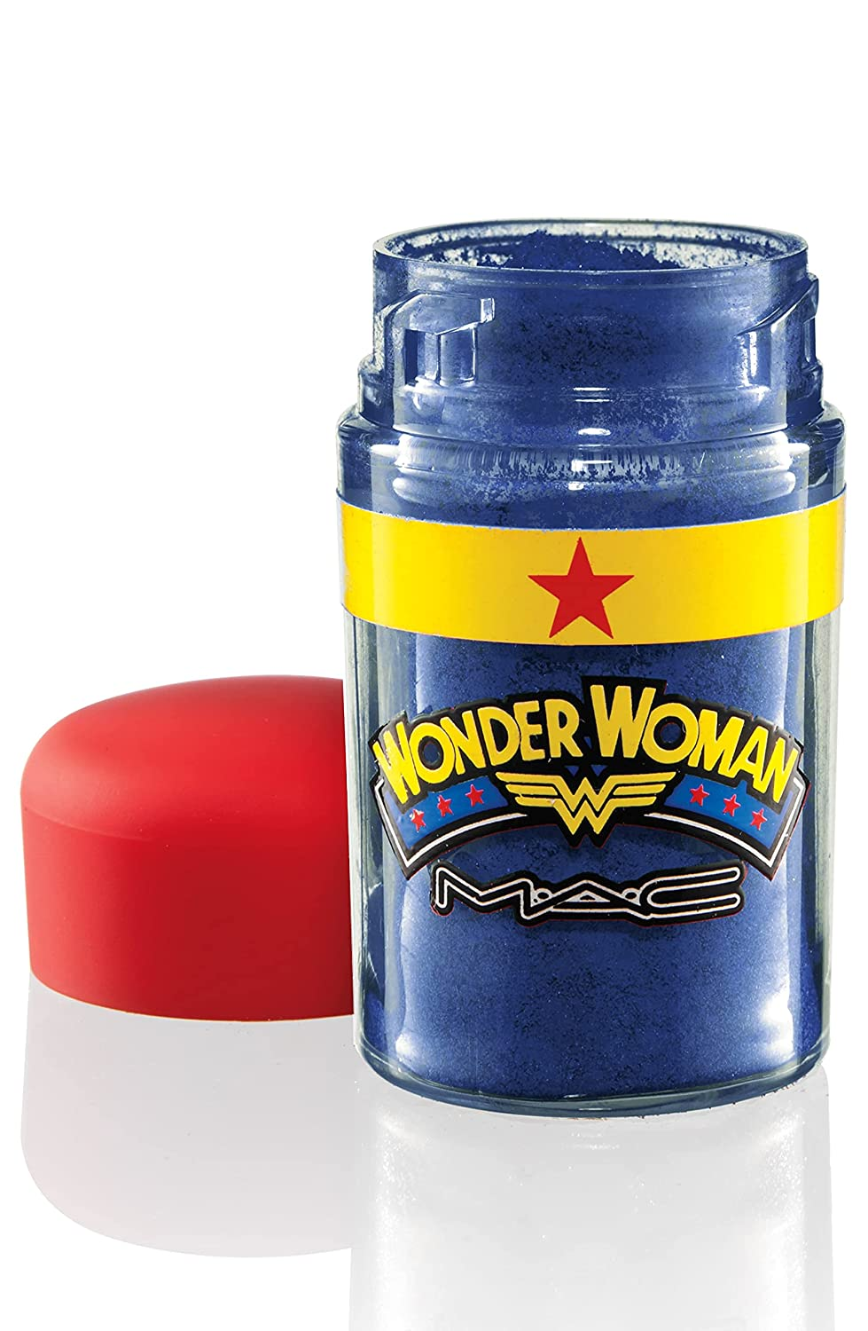 """M.A.C Wonder Woman """"Marine Ultra"""" Pigment – Full Size Eyeshadow Eye Color Limited Edition New in Box"""
