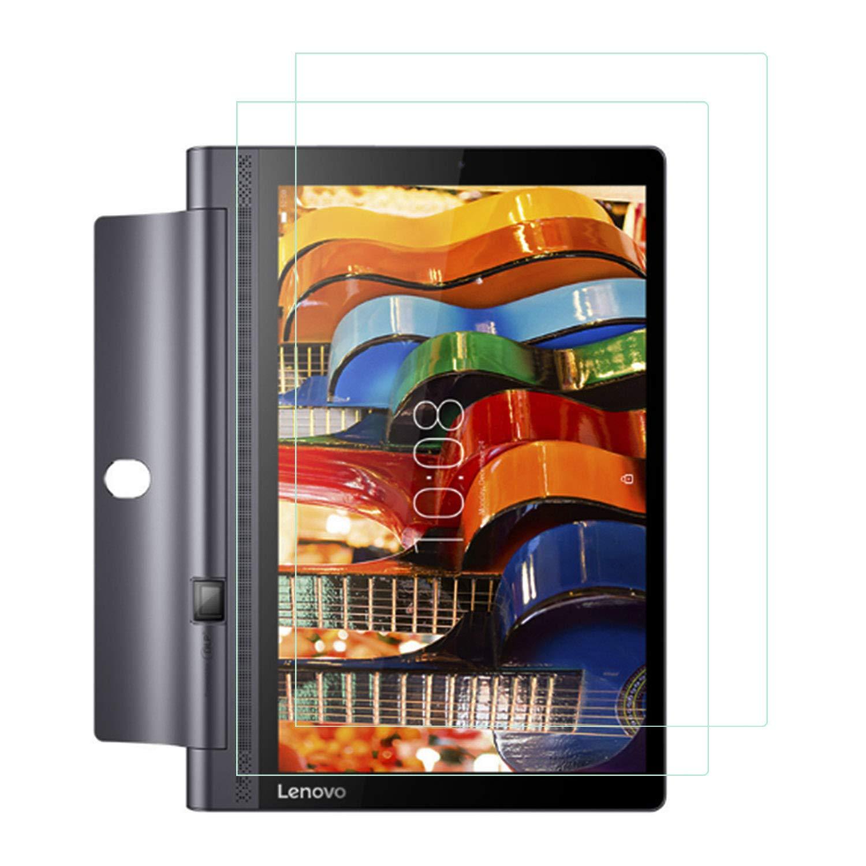 Atump Protector Pantalla de Lenovo Yoga Tab 3 Pro, [2 Pack], Cristal Vidrio Templado de 3D [9H Dureza] [Alta Definicion], Protector de Pantalla para ...