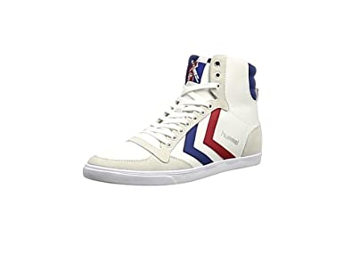 [ヒュンメル] hummel Slimmer Stadil High Canvas HM63111  2114 (Black/White/36)