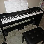 alesis coda pro 88 key digital piano with hammer action keys user record sustain. Black Bedroom Furniture Sets. Home Design Ideas