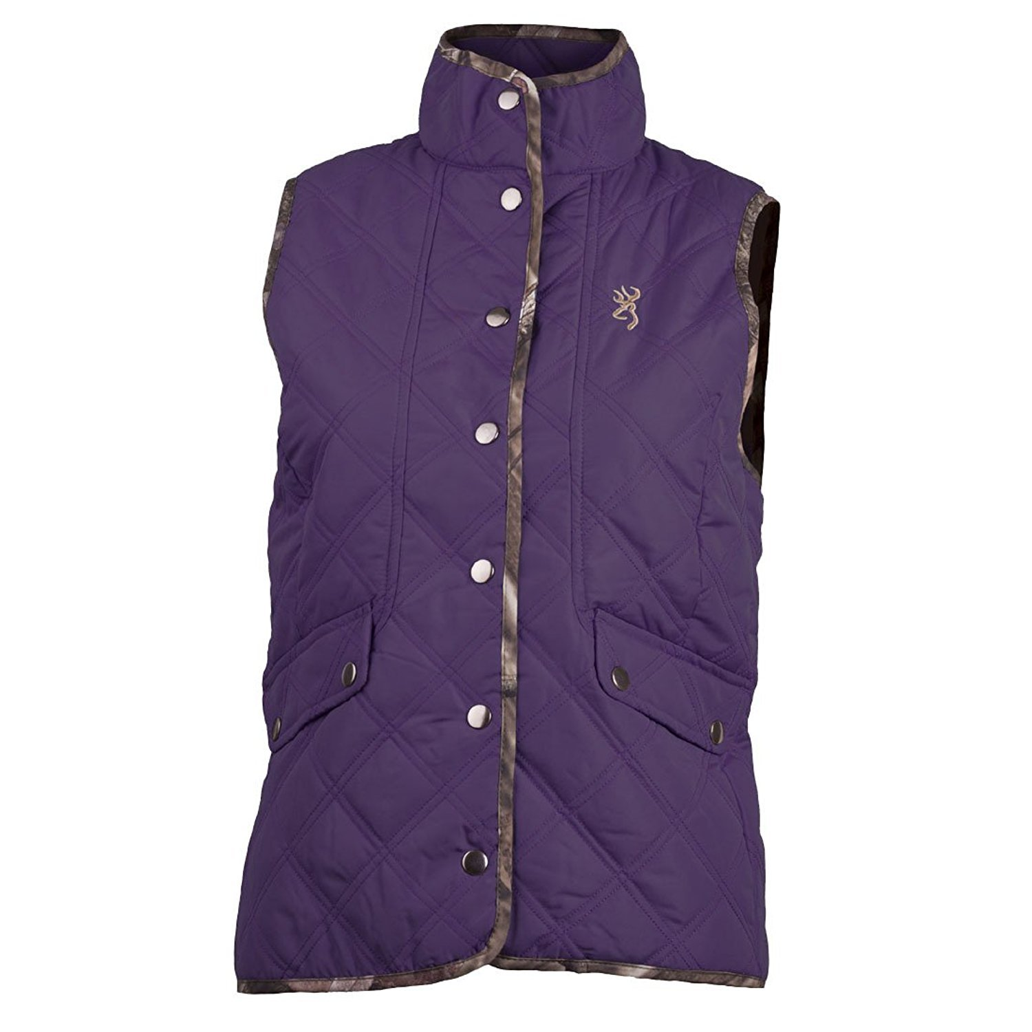 Browning Women's Virginia Buckmark Vest Nightshade