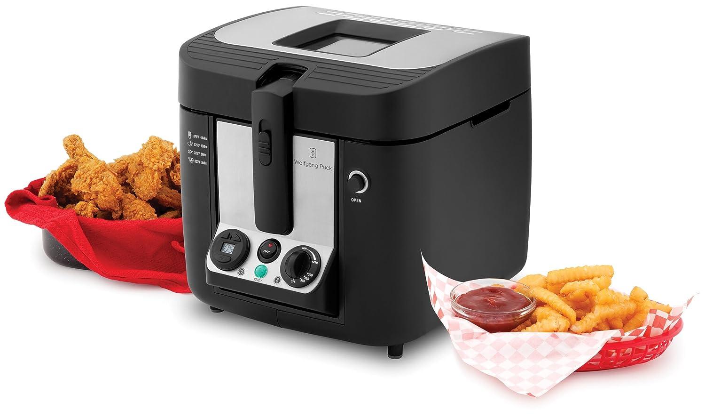 Uncategorized Wolfgang Puck Kitchen Appliances amazon com wolfgang puck wpdfr070 deep fryer 3 liter kitchen dining