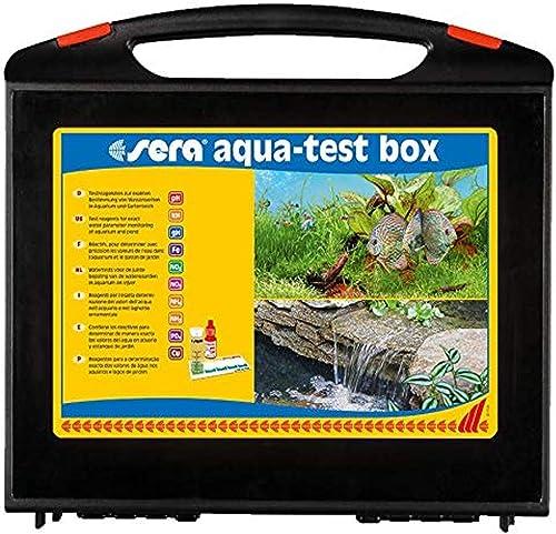 sera Aqua-Test Box Testkoffer mit 10 verschiedenen Wassertest