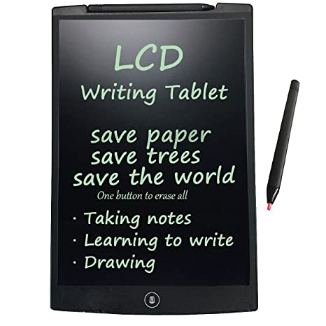 Tableta de escritura LCD, HuiHeng tablero pizarra portátil de dibujo gráfico Tablet adecuado para niños, diseñadores, profesores, estudiantes y ...