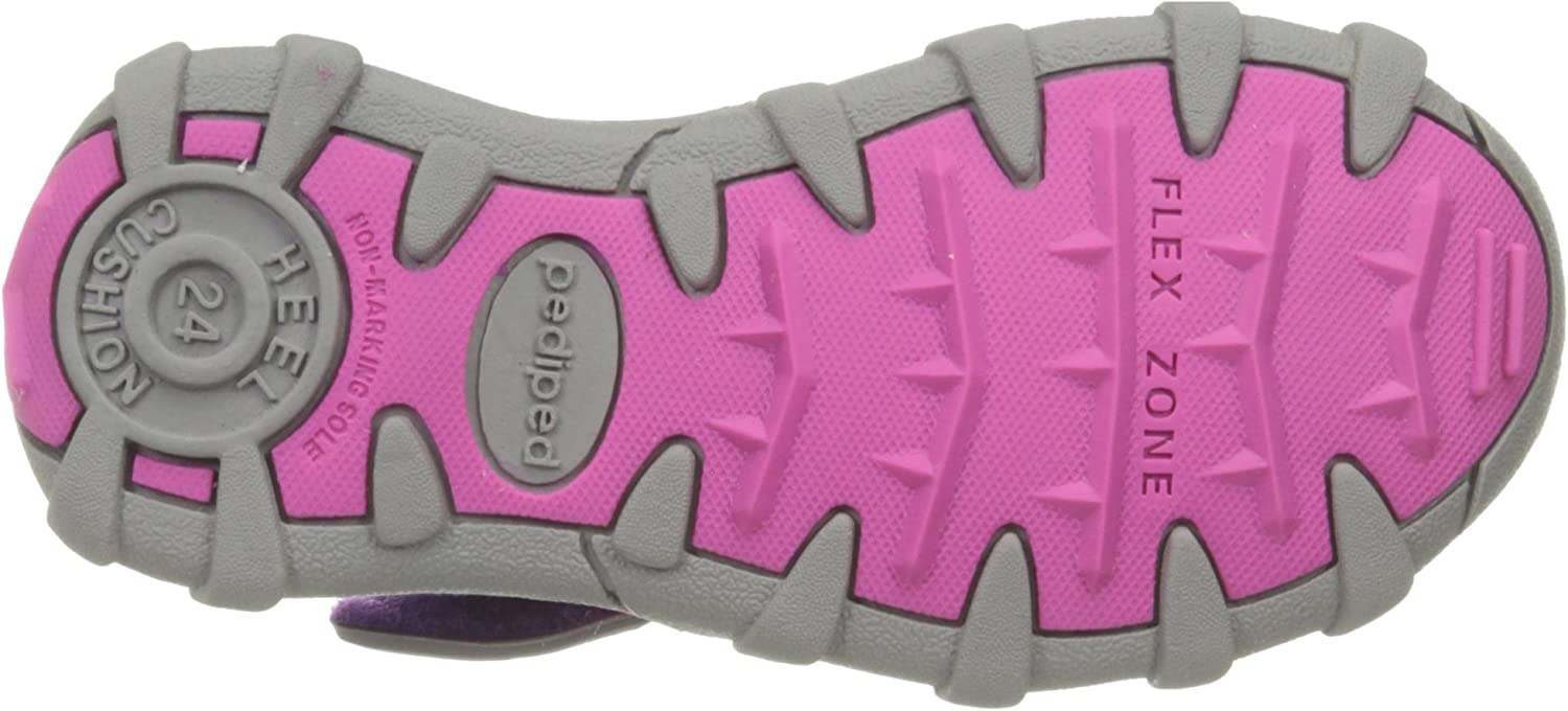 pediped Kids Canyon Flat CANBLUELIME