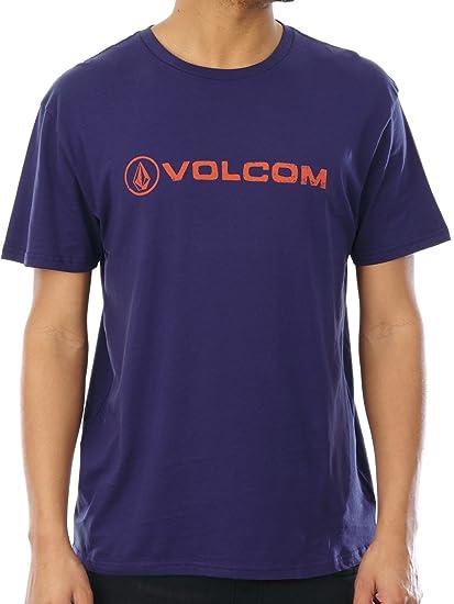 Volcom linoeuro Basic Violeta - Camiseta: Amazon.es: Ropa y accesorios