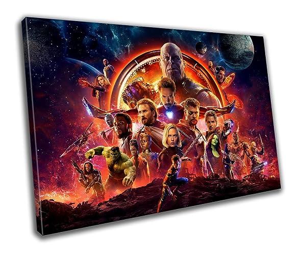 Avengers Infinity War Movie Canvas Print Home Decor- Wall Art - Modern Prints - Ready  sc 1 st  Amazon.com & Amazon.com: Avengers Infinity War Movie Canvas Print Home Decor ...