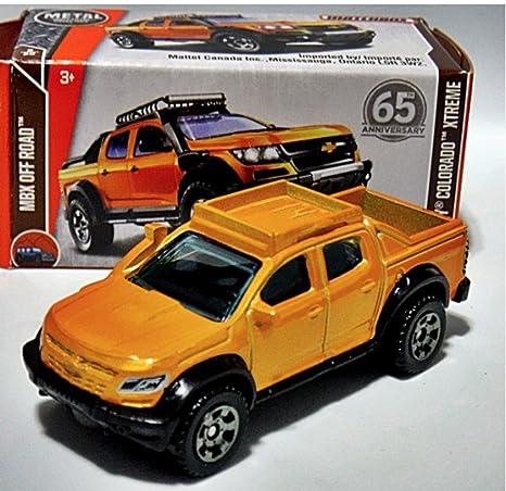 Amazon Matchbox 16 Chevy Colorado Xtreme Orange Toys Games