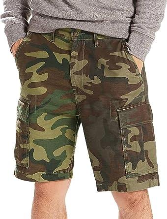 1afbd3f1 Levi's ® Cargo Shorts camo: Amazon.co.uk: Clothing