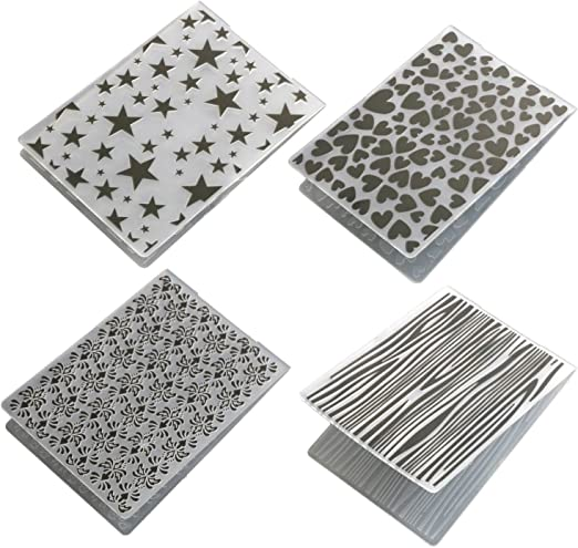 Various Patterns Plastic Embossing Folders Template DIY Scrapbooking Card Craft