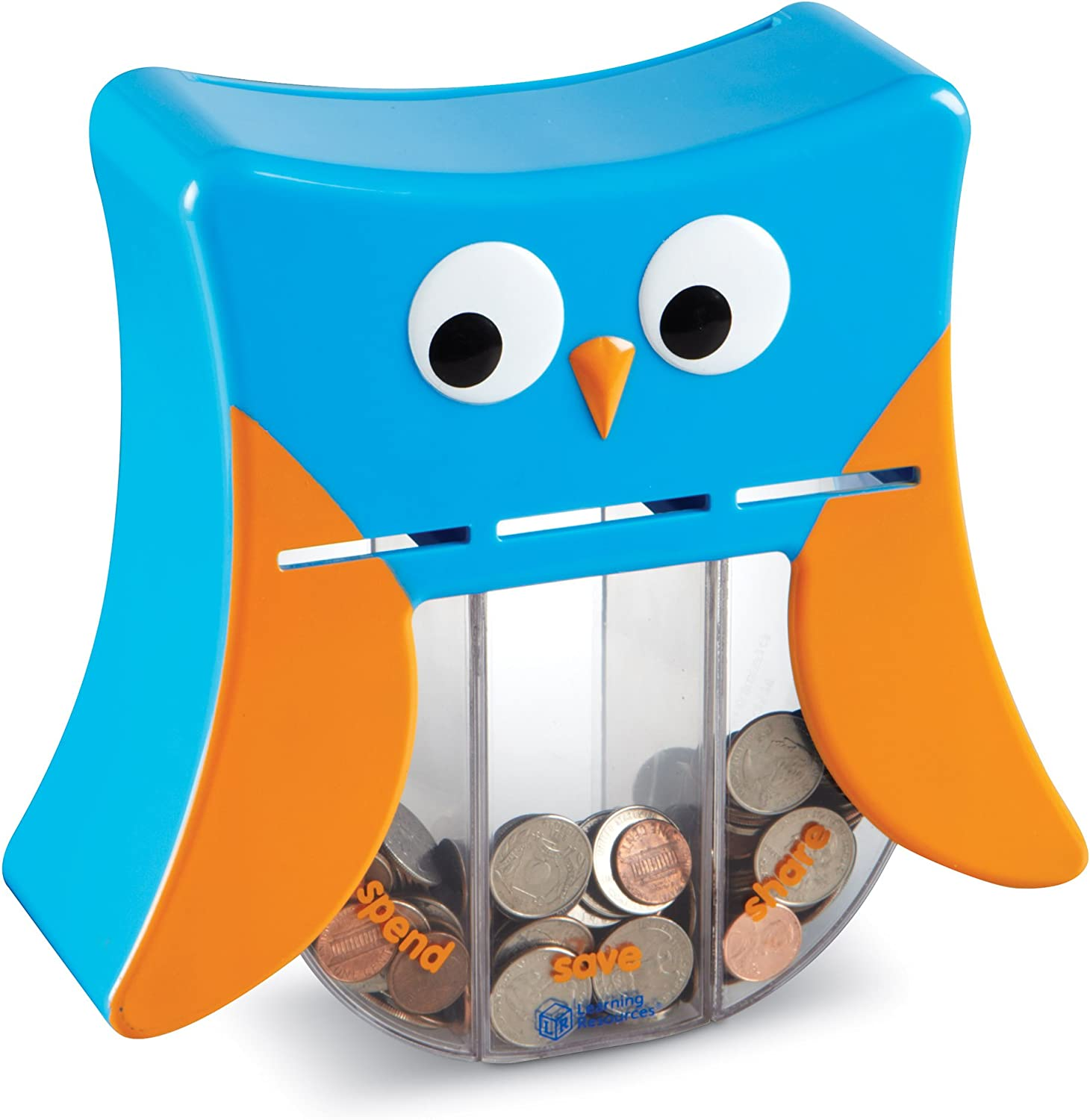 Money Toy Learning Resources Wise Owl Teaching Bank Save Spend Give Bank Ages 3+