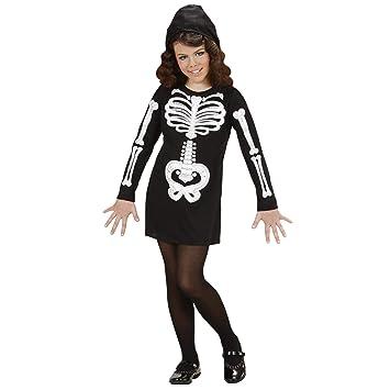 WIDMANN 74618 - Disfraz de esqueleto para niño (talla 158 ...