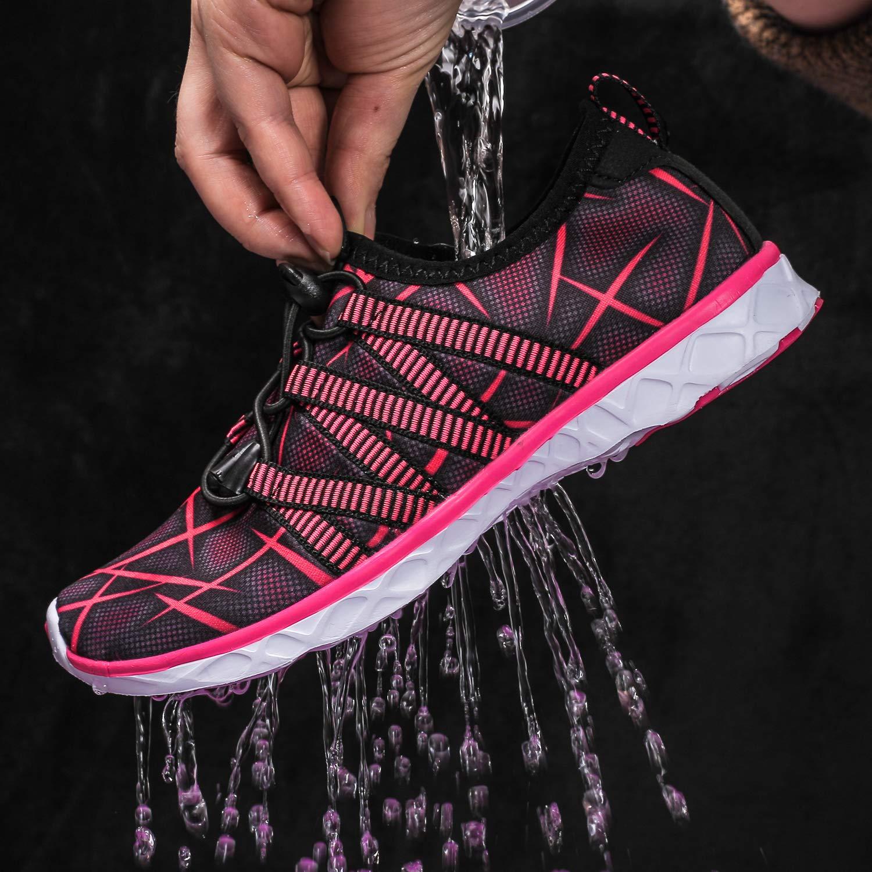 Dian Sen Girls /& Boys Water Shoes Quick Dry Kids Athletic Sneakers Casual Sport Beach Swim Aqua Shoes