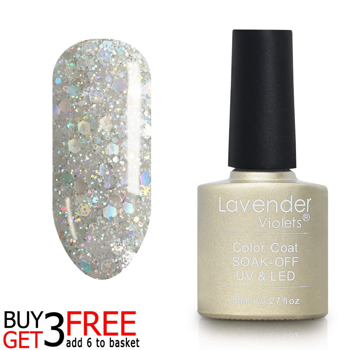 Amazon Com Soak Off Uv Led Gel Nail Polish 8ml Sparkle Colors