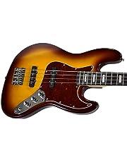 Benson Deluxe jazz Memphis Sunburst electric bass guitar package
