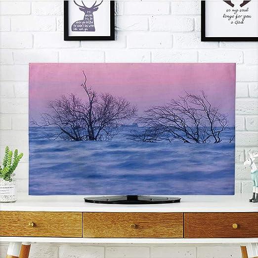 iPrint - Cubierta antipolvo para televisor LCD, diseño de bosque y ...