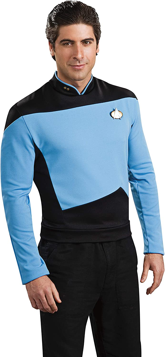 Rubie's Star Trek The Next Generation Deluxe Science Officer Adult Costume Shirt